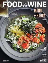 Food & Wine Magazine | 1/1/2020 Cover