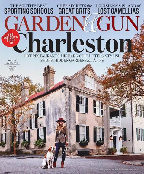 Garden & Gun Cover - 2/1/2020