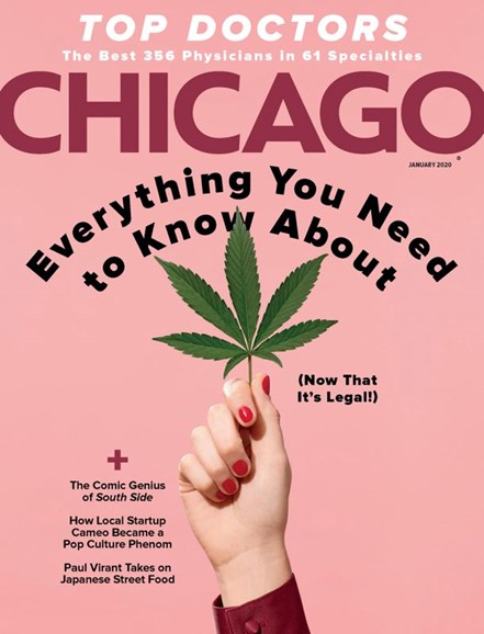 Chicago Magazine Cover - 1/1/2020
