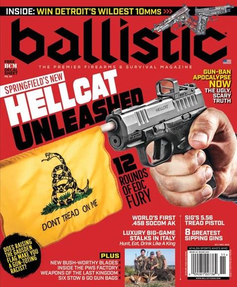 Ballistic Cover - 10/1/2019