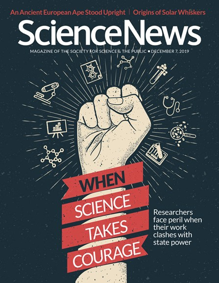 Science News Cover - 12/7/2019