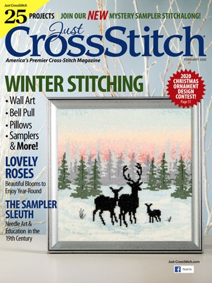 Just CrossStitch Cover - 2/1/2020