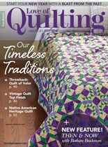 Fons & Porter's Love of Quilting   1/2020 Cover