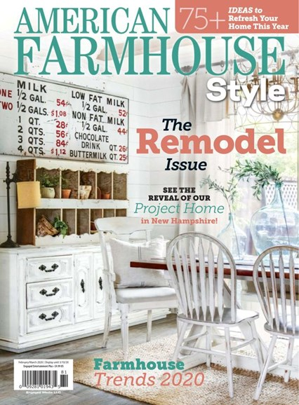 American Farmhouse Style Cover - 2/1/2020