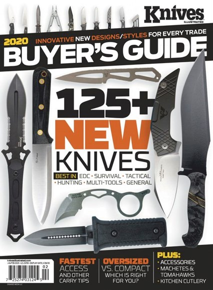 Knives Illustrated Cover - 1/1/2020