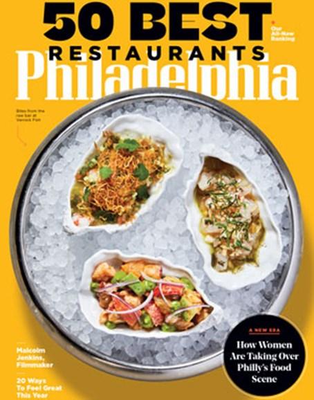 Philadelphia Magazine Cover - 1/1/2020