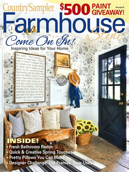 Farmhouse Style Cover - 3/1/2020
