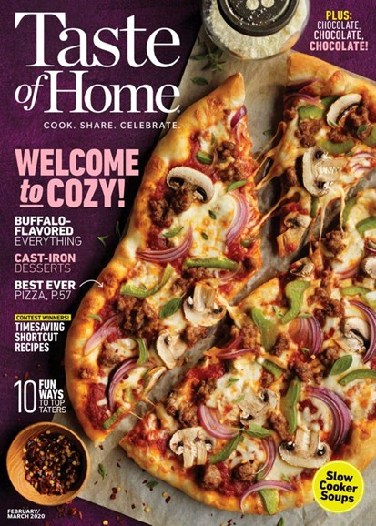 Taste of Home Cover - 2/1/2020