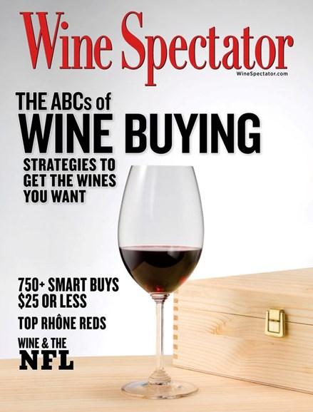Wine Spectator Cover - 2/29/2020