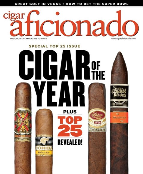 Cigar Aficionado Cover - 1/1/2020