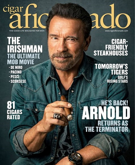 Cigar Aficionado Cover - 11/1/2019