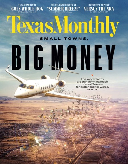 Texas Monthly Cover - 2/1/2020