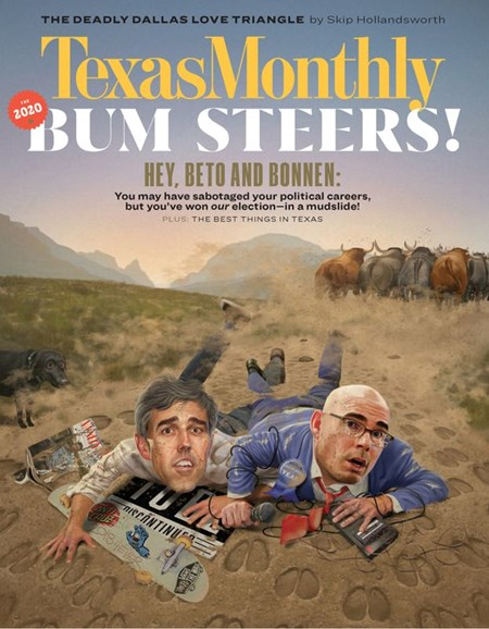 Texas Monthly Cover - 1/1/2020