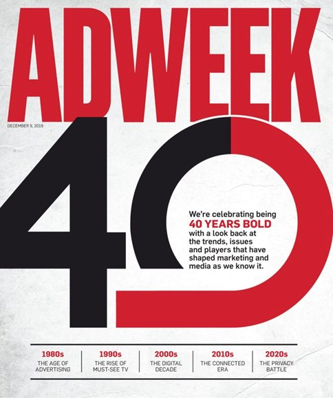 Adweek Cover - 12/9/2019