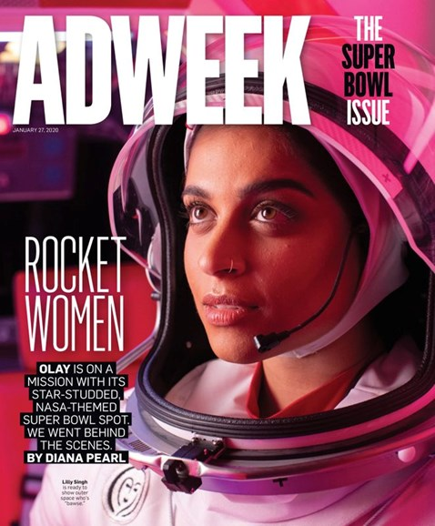 Adweek Cover - 1/27/2020