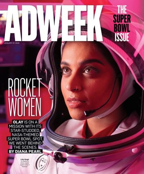 Adweek Cover - 1/27/2020