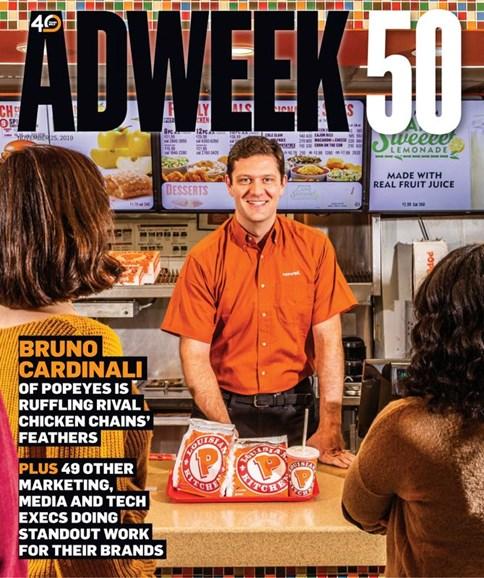 Adweek Cover - 11/25/2019