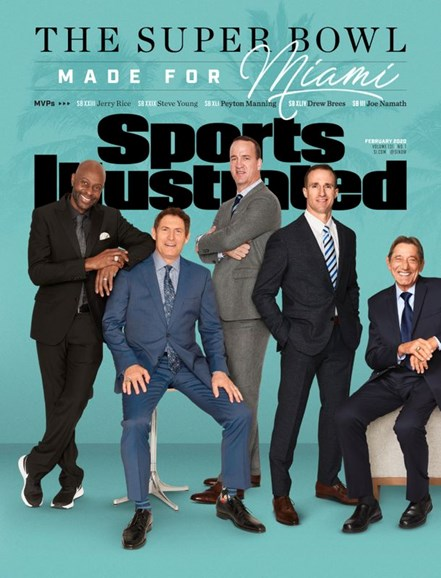 Sports Illustrated Cover - 2/1/2020