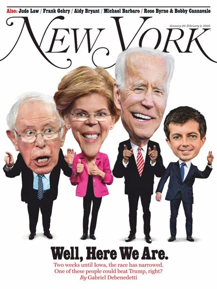 New York Magazine Cover - 1/20/2020