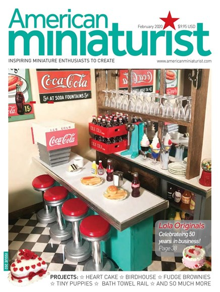American Miniaturist Cover - 2/1/2020