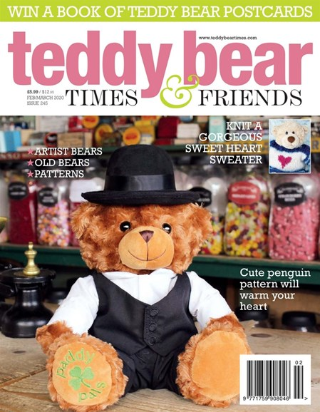 Teddy Bear Times & Friends Cover - 2/1/2020