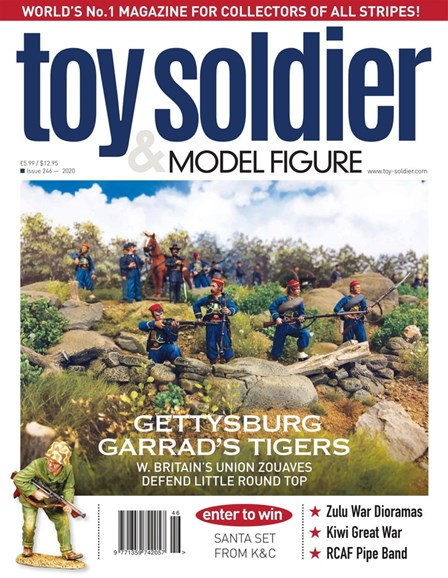Toy Soldier & Model Figure Cover - 1/1/2020