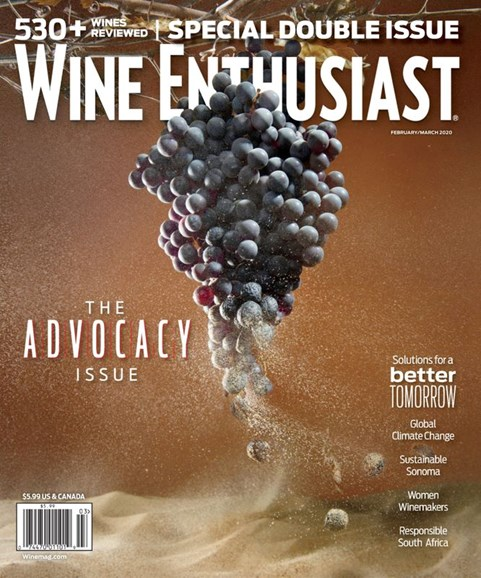 Wine Enthusiast Cover - 2/1/2020