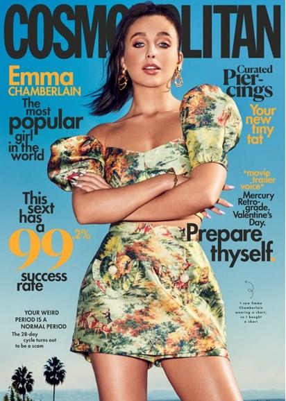 Cosmopolitan Cover - 2/1/2020