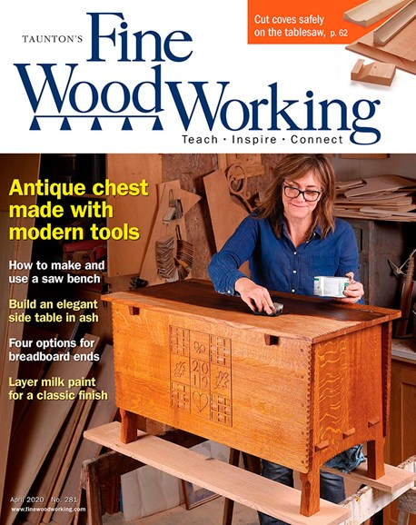 Fine Woodworking Cover - 4/1/2020