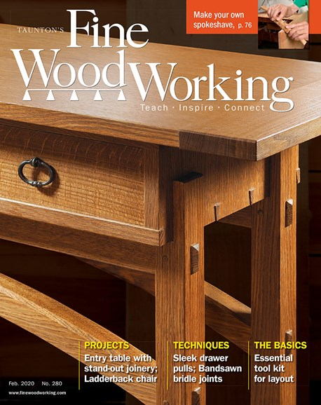Fine Woodworking Cover - 2/1/2020