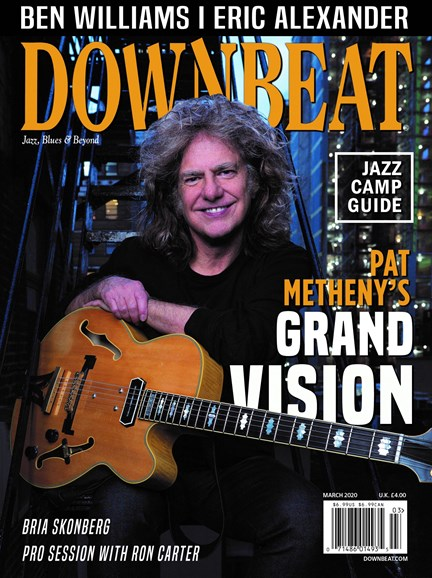 DownBeat Cover - 3/1/2020