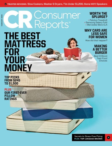 Consumer Reports Cover - 2/1/2020