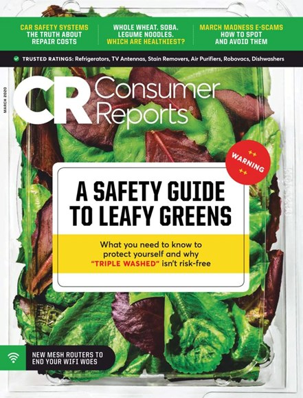 Consumer Reports Cover - 3/1/2020