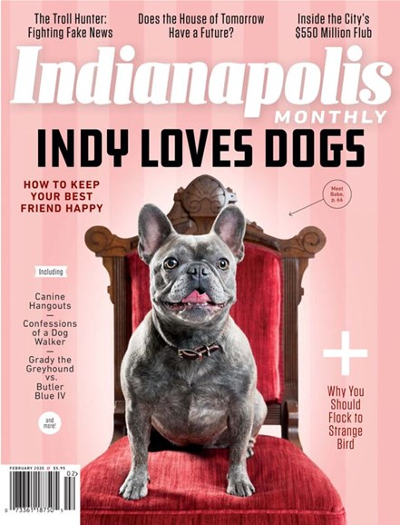 Indianapolis Monthly Cover - 2/1/2020