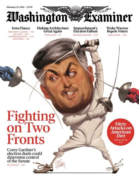 Washington Examiner Cover - 2/11/2020