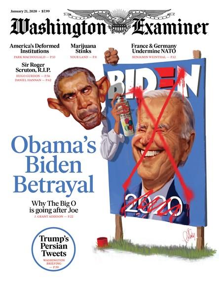 Washington Examiner Cover - 1/21/2020