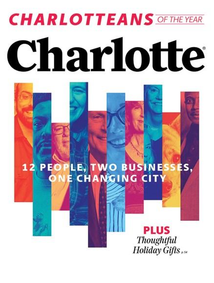 Charlotte Magazine Cover - 12/1/2019