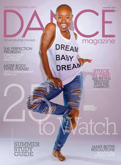 Dance Magazine Cover - 1/1/2020