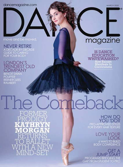 Dance Magazine Cover - 3/1/2020