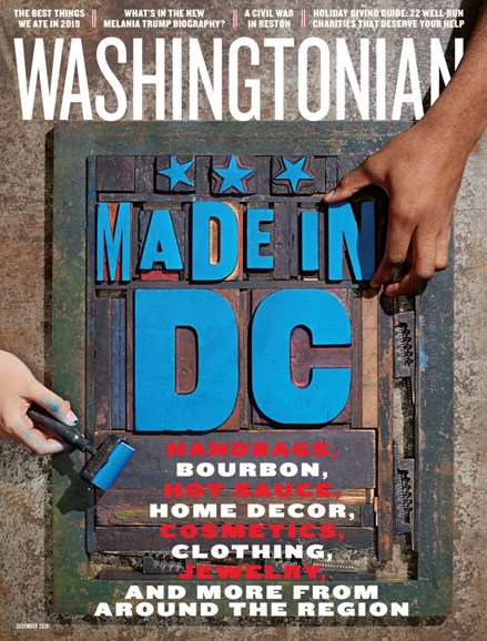 Washingtonian Cover - 12/1/2019