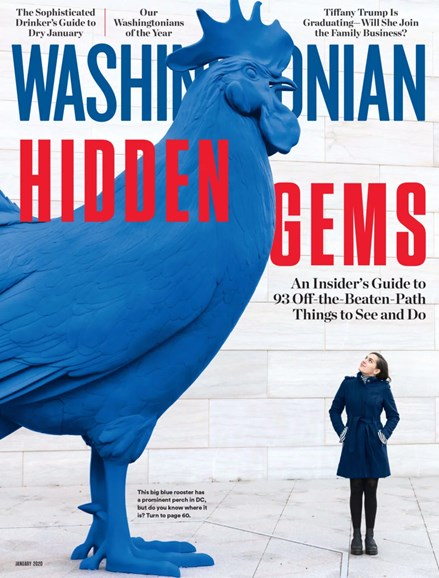 Washingtonian Cover - 1/1/2020