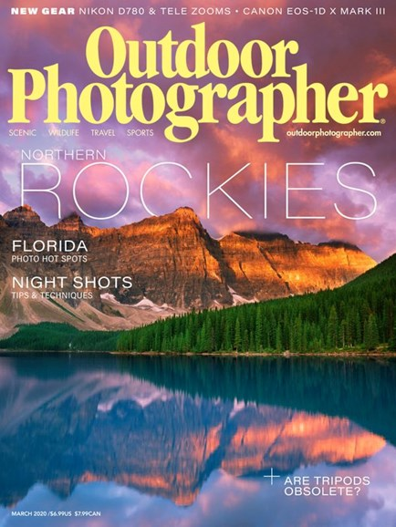 Outdoor Photographer Cover - 3/1/2020