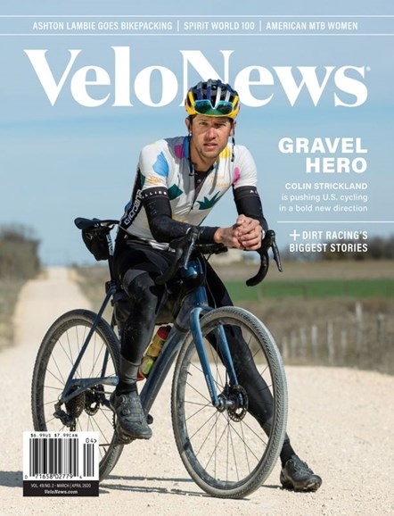 VeloNews Cover - 3/1/2020