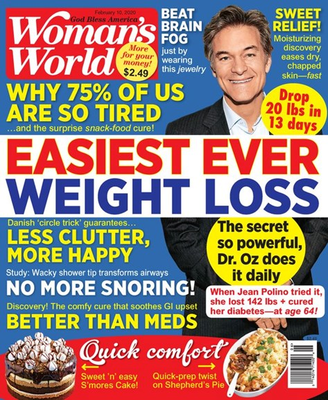 Woman's World Cover - 2/10/2020