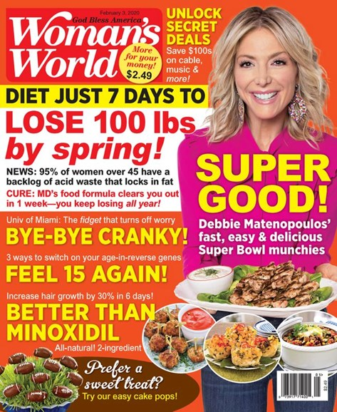 Woman's World Cover - 2/3/2020