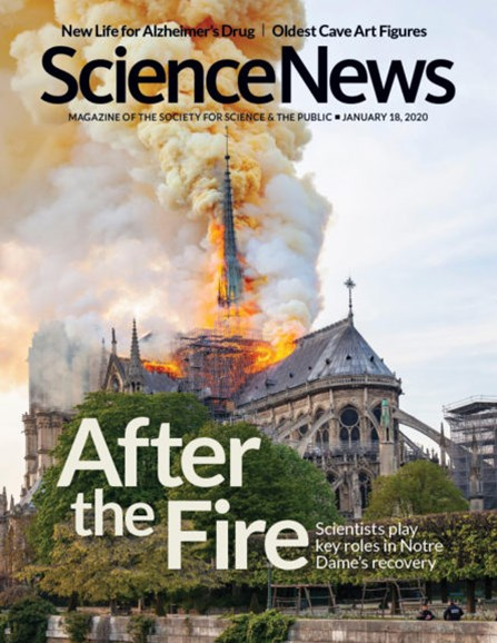 Science News Cover - 1/18/2020