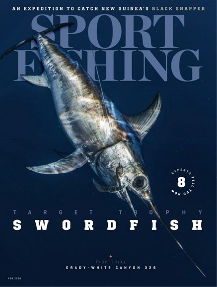 Sport Fishing Cover - 2/1/2020