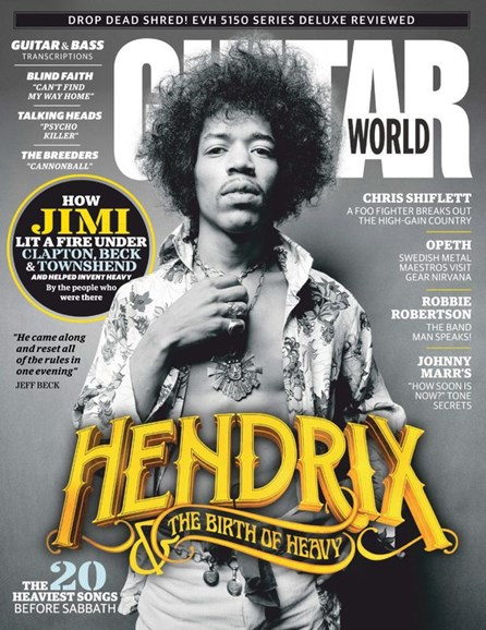 Guitar World Cover - 2/1/2020