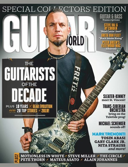 Guitar World Cover - 1/1/2020