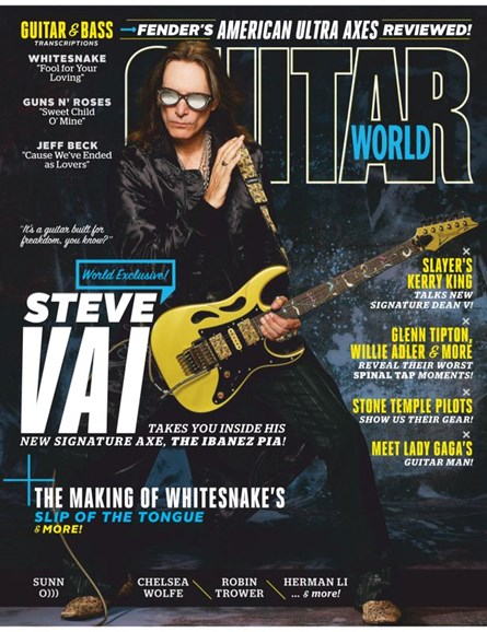 Guitar World Cover - 3/1/2020